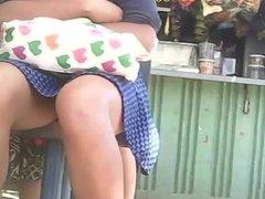 novinha de saia (teen girl upskirt) 165