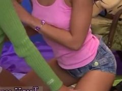 Freckles blowjob Hairy Kim and clean-shaved