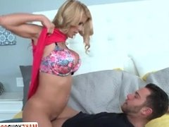 Step Mom Alexis Fawx Caught Her Son Sniffing Her Panties