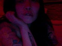 big tits babe on webcam
