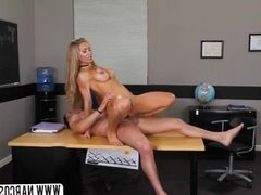 Hot Blonde Step Mom Nicole Aniston Works Teacher
