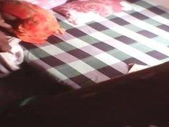 Satin Silk Saree maid fucking in home