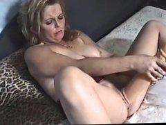 Dirty english slut Karen self torture