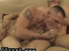 Old man cums inside young boys ass gay and