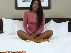 Kinky Ashley Pink gets naughty in bed with her horny man