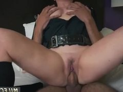 Blond milf seduces young guy Noise