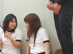 Japanese schoolgirls random facial Part 2