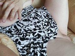 MtF breast fondling