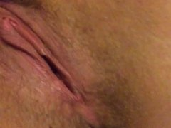 Hairy amateur wife gets fingered and fisted by husband