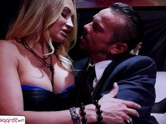 TheStripper Experience - Claudia Valentine gets her ass fuck
