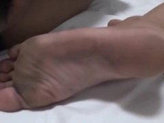 Cum On Dirty Asian Soles