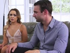 Cleo Vixen Finds Out Her Cuckold Husband Is a Tranny Chaser