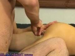 Young gay guys Mike ties up and blindfolds