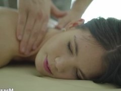 Massage-X - Lovenia Lux - Lovenia Lux oiled-up fucking