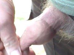 Outdoor foreskin - 3 videos