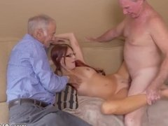 Cock in the horny old mom xxx and young