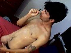 Devin Reynolds grabs his big skater cock and masturbates