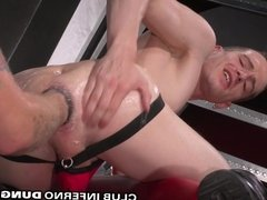 Deep Fisting Axel Abysse's Hole and Rimming his Bud