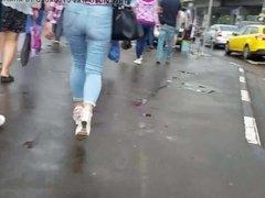 russian ass on the street