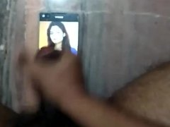 Spitting and Cumming On my Friend Sneha