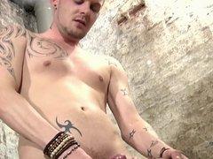 BDSM slave boy tied up and milked schwule jungs.mp4