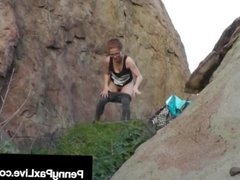 Trespasser Penny Pax Gets Fucked Hard By Fat Dick Land Owner