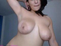Hot Webcam Girl with Huge Boobs