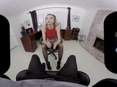 BaDoinkVRcom POV Office Fuck With Hot Blonde Haley Reed