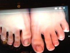 Sexy feet tribute # 5