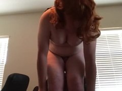 Cumming and Showing off my Big Bouncy Tits