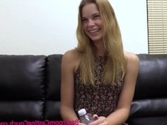Cute Teen Candace Ass Fucked Hard on Casting Couch