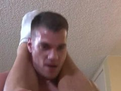 Muscular Recruits Bareback Drilling on Active Duty