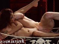 Huge boobs bdsm Poor little Jade Jantzen,
