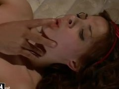 Evilyn Fierce gets tied up and fucked