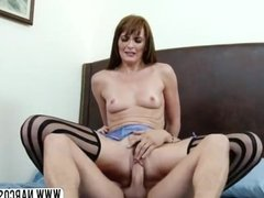 Hurtful Aunt Bianca Breeze In Stockings Likes Best Dick