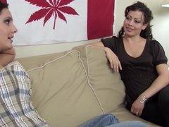 WANKZ- Karmella Seduces Girl into Bed