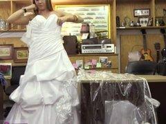 Fake taxi horny girl A bride's revenge!
