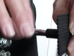 Shackled Balls & Cock Sounding.mp4