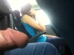 Flasher cums in the train.flv
