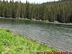 Blowjob At The Lake - Real Colorado Girls - Gracelynn Moans