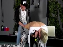 Hairy naked men in bondage gay Reece Gets