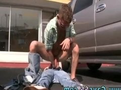 Gay twink voyeur photos first time Empty Lot