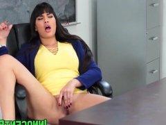 Kinky brunette babe Mercedes Carrera seduces her teacher
