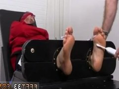 Gay sexy spit on feet  Kenny Tickled