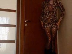 Sexy Secretary And Sexy Dress