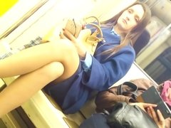 Sexy Syntribation on the Train