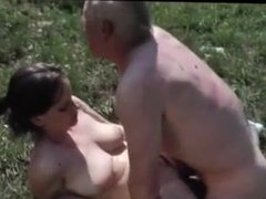 Pussy in the grass