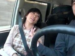 Mom Blowjob In Car