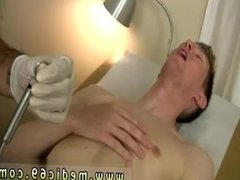 Naked guys at doctor office and  male