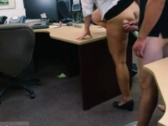 Big booty cuban chick cleans and gets